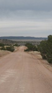 Dirt road.  CR 42 to Galisteo.
