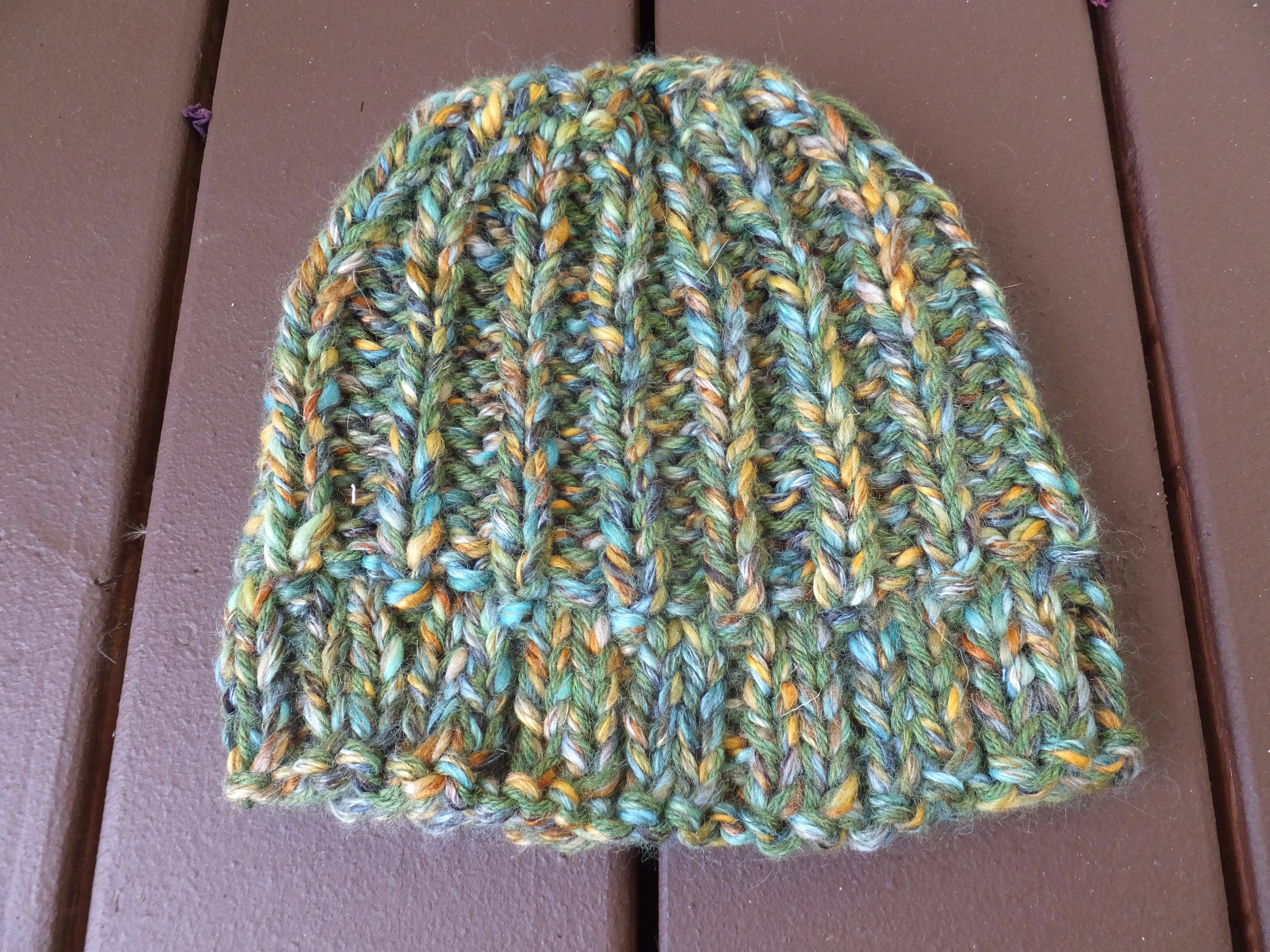 Rastafarian Knit Hat Pattern - Parchment N Lead 97bedfccb2c